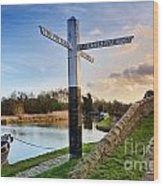Great Haywood Junction Wood Print