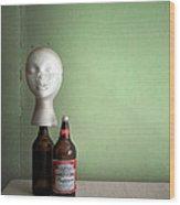 Great Head Wood Print
