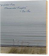 Great Lakes Inspirational Series - Spring Wood Print