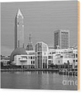 Great Lakes Science Center Cleveland Wood Print