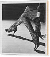 Great Legs Wood Print