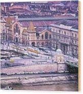 Great Market Hall Budapest Wood Print