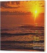 Great Morning Wood Print