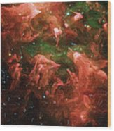 Great Nebula In Carina Wood Print