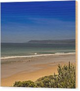 Great Ocean Road Beach Wood Print
