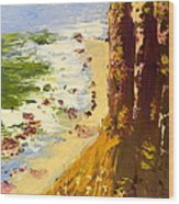 Great Ocean Road Wood Print
