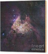 Great Orion Nebula (m42), Hubble Image Wood Print