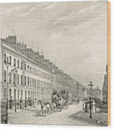 Great Pultney Street, Bath, C.1883 Wood Print