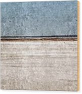 Great Salt Plains Wood Print