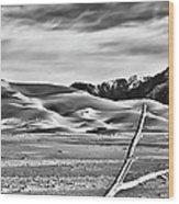 Great Sand Dunes 1 Wood Print