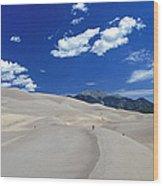 Great Sand Dunes IIi Wood Print