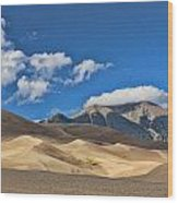 The Great Sand Dunes National Park 2 Wood Print