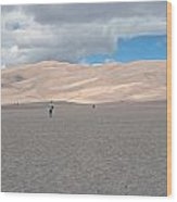 Great Sand Dunes Park Wood Print