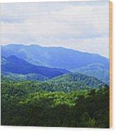 Great Smoky Mountains Wood Print by Christi Kraft