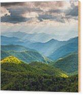 Great Smoky Mountains National Park Nc Western North Carolina Wood Print