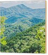 Great Smoky Mountains National Park Near Gatlinburg Tennessee. Wood Print