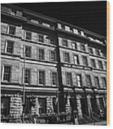 Great Southern Hotel Originally The Railway Hotel Built In 1845 On Eyre Square Galway City County Galway Republic Of Ireland Wood Print