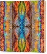 Great Spirit Abstract Pattern Artwork By Omaste Witkowski Wood Print