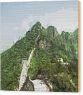 Great Wall 0033 - Oil Stain Sl Wood Print