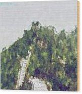 Great Wall 0033 - Plein Air 2 Sl Wood Print