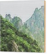 Great Wall 0043 - Oil Stain Sl Wood Print