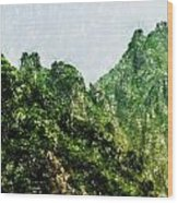 Great Wall 0043 - Pastel Pencils Hp Wood Print