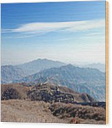 Great Wall Of China - Mutianyu Wood Print
