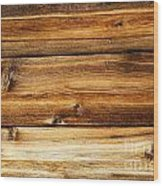 Great Weathered Wood Background Wood Print