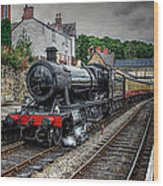 Great Western Locomotive Wood Print