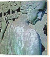 Grecian Goddess Wood Print