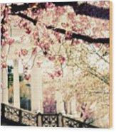 Grecian Spring Wood Print