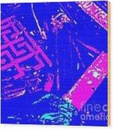 Greco-celtic Relic Wood Print
