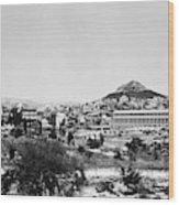 Greece Athens Agora Wood Print