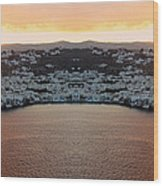 Greece Double Vision #154 Wood Print