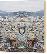Greece Double Vision #51 Wood Print