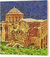 Greek Church 6 Wood Print