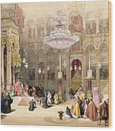 Greek Church Of The Holy Sepulchre Wood Print