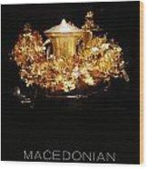 Greek Gold - Macedonian Gold Wood Print