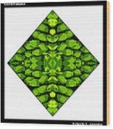 Green Banana Wood Print