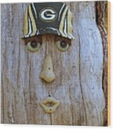 Green Bay Packer Humor Wood Print