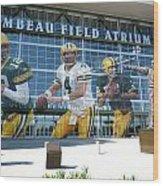 Green Bay Packers Lambeau Field Wood Print