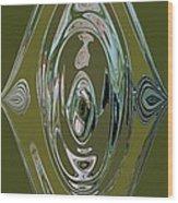 Green Elegance Wood Print
