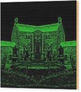 Green Manor Wood Print