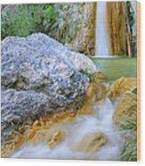 Green River Waterfalls Wood Print