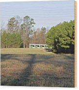 Green Stables - Lake Wheeler Road Wood Print