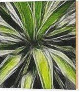 Green Tidings Of Joy Wood Print