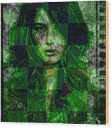 Green With Envy Wood Print