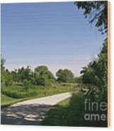 Greene Valley Trail Wood Print