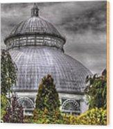 Greenhouse - The Observatory Wood Print