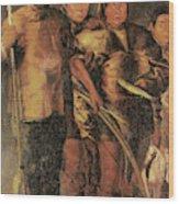 Greenlanders, 1654 Wood Print